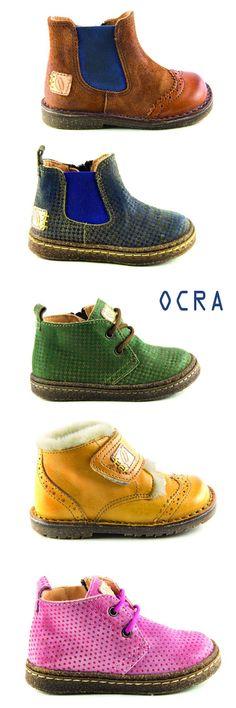 So cool, these tiny bootsby Italian brand OCRA . Different and colorful!     Ik zag ze voor het eerst bij schoenenwinkel van Loock in Za...