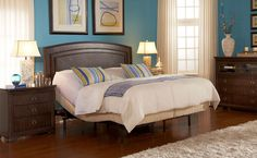 bedroom-cute-ideas-for-bedroom-decoration-with-split-king-adjustable-bed-frame-along-with-curve-mahogany-wood-headboard-and-blue-bedroom-wall-paint-simple-and-neat-split-king-adjustable-bed-frame-for.jpg (1600×986)