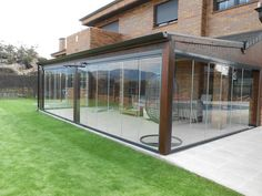 Pergola Front Of House Outdoor Rooms, Outdoor Living, Outdoor Pergola, Cafe Blinds, Garden Landscape Design, Landscaping Design, Garden Landscaping, Backyard Patio Designs, House Extensions