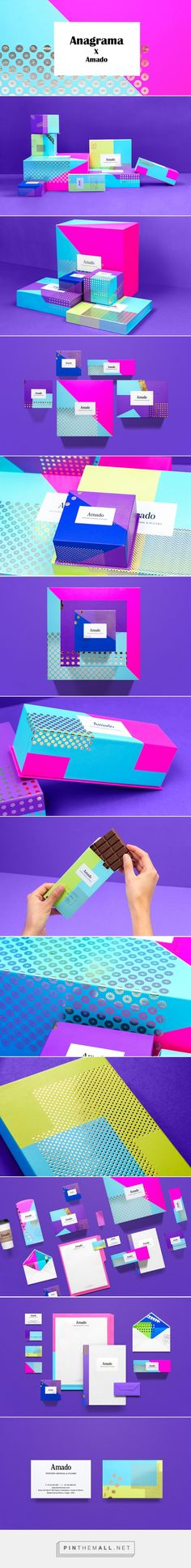 Design Today: Anagrama X Amado  — The Dieline - Branding & Packaging - created via https://pinthemall.net
