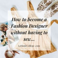 Become A Fashion Designer, How To Become, Sewing, Dressmaking, Couture, Stitching, Sew, Costura, Needlework
