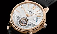 Montblanc ExoTourbillon Slim  Why would you take this off?  ____________________________  #Montblanc #horology #watchaddict #timepiece #wristwach #zeitwerk #luxury #luxurywatch #watchfam #watch #tourbillon