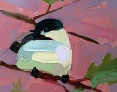Pintura de acuarela Original de amapola no. 3 por prattcreekart