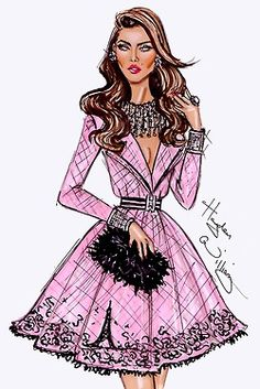 Hayden Williams Fashion Illustrations: Archive