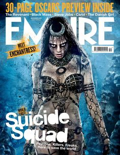 Cara Delevingne's 'Enchantress' Features On New SUICIDE SQUAD Empire Cover