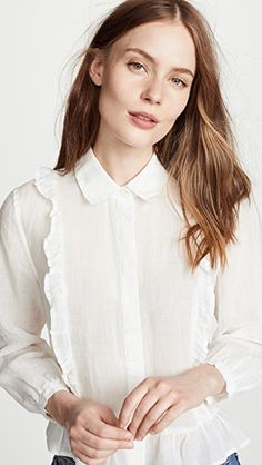 0103de5a435214 9 Best Blouse's images | Clothes, Frill blouse, Ruffled shirt