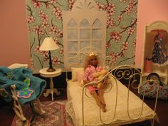For sale in my Etsy shop, Dioramas For Barbi