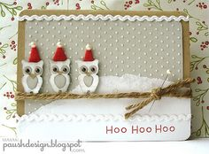 another owl christmas card