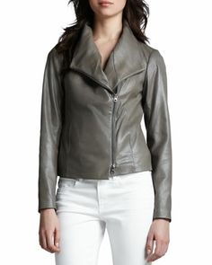 Beautiful Leather Jacket by Vince
