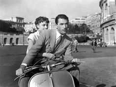 Roman Holiday, Audrey Hepburn, Gregory Peck, 1953 -