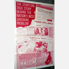 1958 Unwed Mother now featured on Fab.