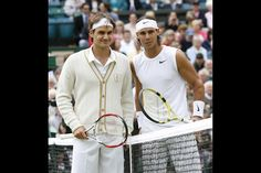 Federer and Nadal, Wimbledon, 2008