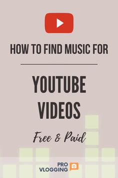 How to Find Free & Paid Music for Your Videos. There are some great ideas here to help your videos stand out from the crowd. Free Music Sites, Free Music For Videos, Music Videos, First Youtube Video Ideas, Making Youtube Videos, Youtube Hacks, You Youtube, Youtube Free Music, Youtube Secrets