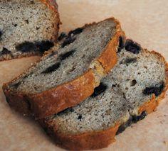 Leanne bakes: William's Sonoma Sour Cream Blueberry Bread