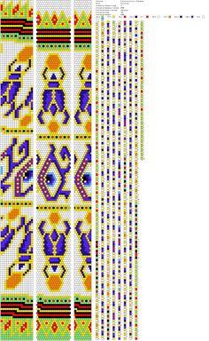 Египетская сила на 16 бисерин