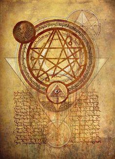 Simon Necronomicon Sigil by François Launet Cthulhu Tattoo, Cthulhu Art, Call Of Cthulhu, Occult Symbols, Magic Symbols, Occult Art, Necronomicon Lovecraft, Lovecraft Cthulhu, Arte Horror