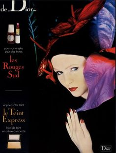 A makeup ad for Christian Dior by Serge Lutens