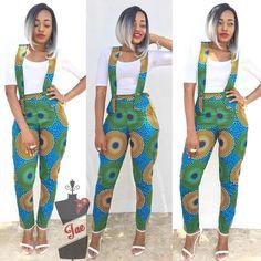 Latest Ankara Jumpsuits 2018 Ultra Stylish Ankara Styles for Ladies Latest Ankara Styles 2018 African Fashion Trends African Fashion Designers, African Fashion Ankara, Latest African Fashion Dresses, African Print Dresses, African Print Fashion, Africa Fashion, African Wear, African Attire, African Dress