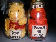 For the Laboratory, adding humor with the horrors, the Pooh Sample & Pickle Me Elmo specimens. Each victim was a buck-already had the canning jars. Even if you had to buy the jars, cost would still be under 5 dollars.