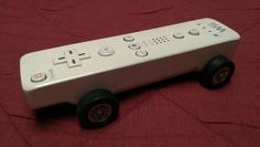 Wii-mote Pinewood Derby