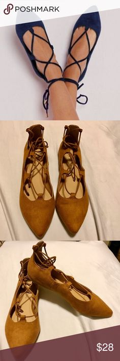 Strapped Ballerina Flats Brand new shoes. Shoes Flats & Loafers