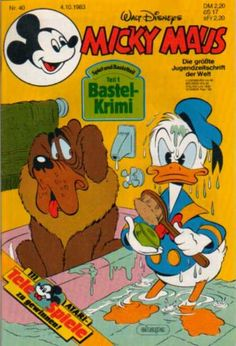 A cover gallery for the comic book Micky Maus Donald Sterling, Scrooge Mcduck, I Remember When, Vintage Comics, 2 Set, Vintage Disney, Donald Duck, Comic Book, Hong Kong