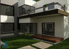 Courtyard design for 2 Kanal house by Amer Adnan Associates