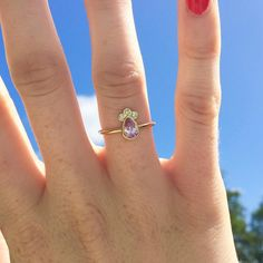 A personal favorite from my Etsy shop https://www.etsy.com/listing/519839368/pink-sapphire-diamond-ring-pink-sapphire