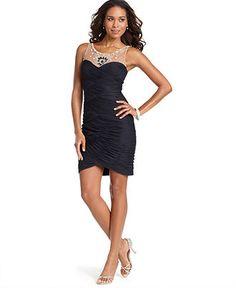 Adrianna Papell Petite Black Dress