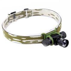 Headlamp Aluminium Alloy, Outdoor Lighting, Accessories, Exterior Lighting