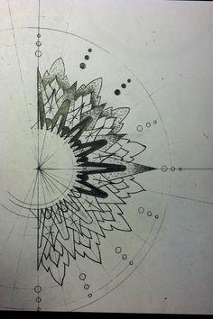 tattoo pointillism stippling