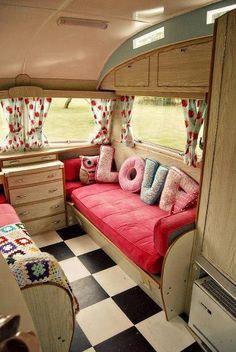 Adorable camper decor....