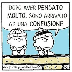 Snoopy Quotes, Italian Quotes, Yoga Quotes, Sarcastic Quotes, Funny Pins, Funny Images, Vignettes, Einstein, Quotations