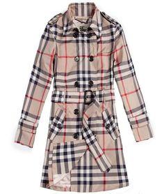 Burberry Women Slim Fit Plaid Trench Coat at http://www.espoo-online.com/jackets-coats-catalog/burberry-women-slim-fit-plaid-trench-coat