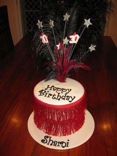 Roaring 20's Birthday Cake