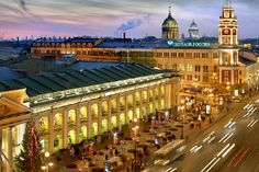 St Petersburg Russia Attractions   Gostiny Dvor Department Store in St. Petersburg, Russia