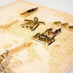 Elaborate landmark cookie cutters