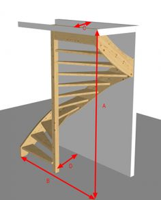 Loft Stairs, House Stairs, Home Stairs Design, Home Design Plans, Loft Conversion Stairs, Types Of Stairs, Backyard Barn, Loft Storage, Chill Room