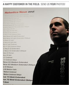 Helvetica Neue Descending an eco friendly hoodie