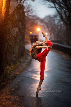 Dance Spirit Photo of the Day: Kaeli Ware (photo by Jordan Matter Photography)
