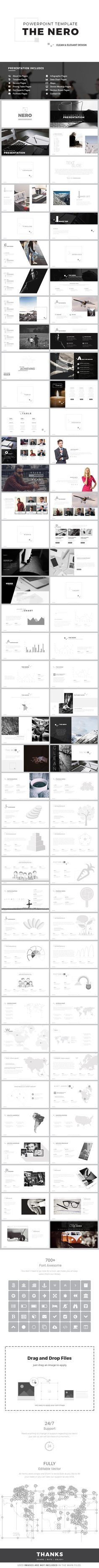 NERO - Powerpoint Template • Only available here! →…