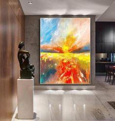 Extra Large Wall Art Palette Knife Artwork Original Painting image 2 Abstract Canvas Art, Oil Painting On Canvas, Extra Large Wall Art, Office Wall Art, Modern Wall Decor, Contemporary Art, Original Paintings, Palette Knife, The Originals
