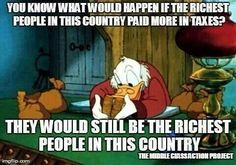 The rich should pay their fair share . . . and corporations, too.