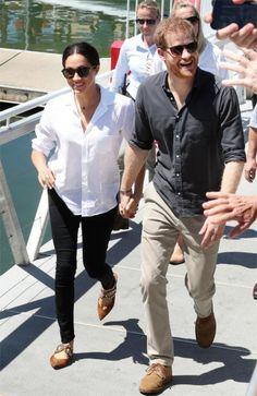 Prince Harry and Meghan Markle are officially parents to a baby boy. Estilo Meghan Markle, Meghan Markle Style, Prince Harry And Megan, Harry And Meghan, Royal Fashion, Star Fashion, Fashion Tips, Fashion Ideas, Men Fashion