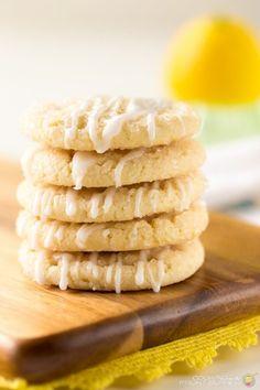 Lemon Sugar Cookie with Glaze by Deb Attinella