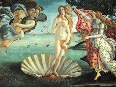 Nascita di Venere - Sandro Botticelli (1486)