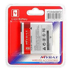 LithiumIon Replacement 1300 mAh Battery for HTC Sensation 4G *** You can get additional details at the image link.