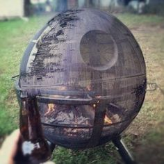 OMG hell yeah: Death Star fire pit