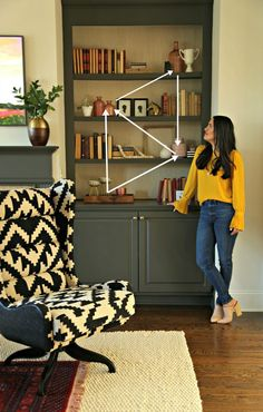Last fall I was invited to teach a class on bookshelf styling at my local West Elm.  As nervous as I was to take my dog and pony show on the road 😉  it was an absolute blast!  In this decorating class I shared my super simple 5 step process to styling bookshelves. Many of you that aren't Charleston, SC locals reached out to ask if I would be sharing what I taught in that class here on the blog.  But I just knew that this particular content would be better shared via video.  It's just easier…