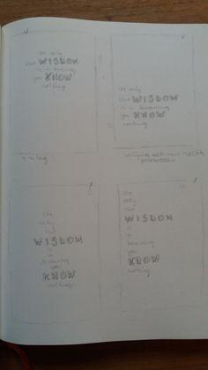 fase 5 :schetsen varianten